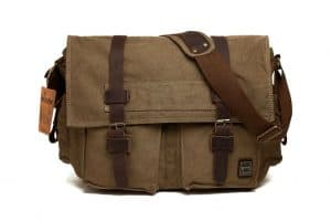 Berchirly Military Men's Canvas Messenger Bag Review