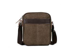 Eshow Men's Small Canvas Crossbody Messenger Bag Review