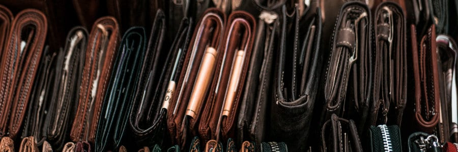 Conditioning your leather goods