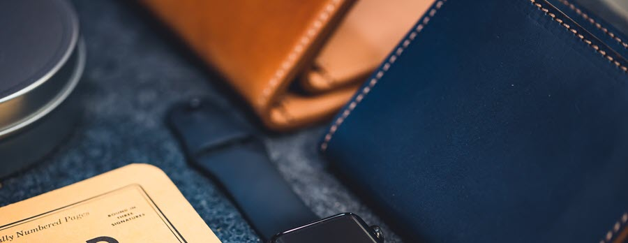 What are RFID wallets made of?