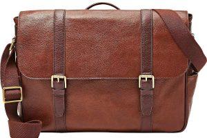 Fossil Men's Estate East-West Messenger Bag Review