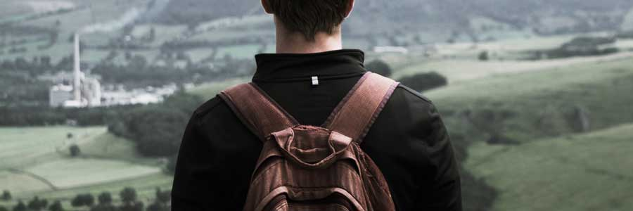 Backpacks for back health? What about messenger bags?
