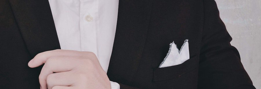 how to fold a pocket square - pointed