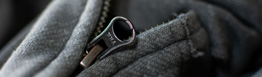 Understanding why the zipper is on the right on men's jackets